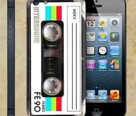 Casette For Apple Phone, IPhone 4/4S Case, IPhone 5 Case, Cover Plastic