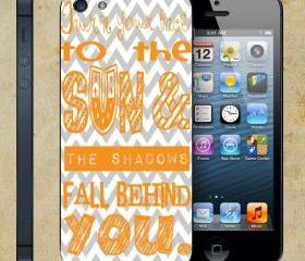Quote Chevron Pattern For Apple Phone, IPhone 4/4S Case, IPhone 5 Case, Cover Plastic